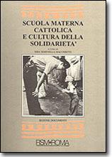 Scuola materna cattolica e cultura della solidarietà